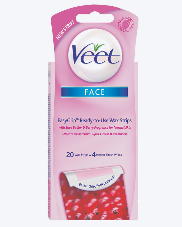 Veet Cold Wax Strips Face